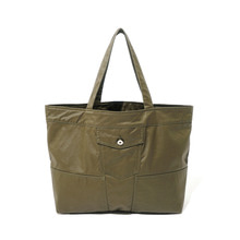 [10%할인] [파르티멘토]Coating Trucker Bag Khaki