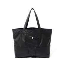 [10%할인] [파르티멘토]Coating Trucker Bag Black