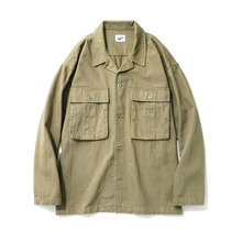 [14%할인] [파르티멘토]Desert Cotton Jacket Khaki