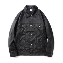 [14%할인] [파르티멘토]Coating Trucker Jacket Black