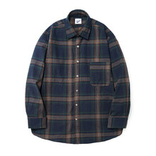 [13%할인] [파르티멘토]Plaid Check Shirts Navy