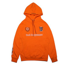 [DUCKDIVE]FOOTBALL HOODIE- ORANGE