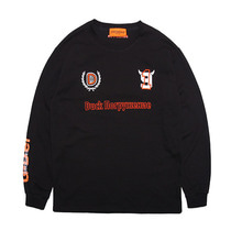 [DUCKDIVE]FOOTBALL LONG SLEEVE-BLACK