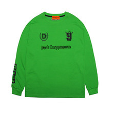 [DUCKDIVE]FOOTBALL LONG SLEEVE-GREEN