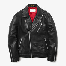 [MAHAGRID] [20% 할인]W RIDERS JACKET(LAMBSKIN) BLACK