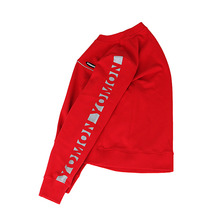 [YOMON] Refrective Sleeves Sweat - RED