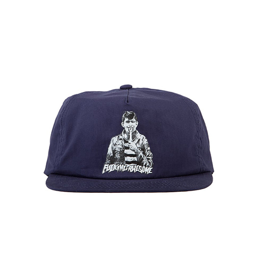 [Fucking Awesome] Knife Tongue Hat - Navy