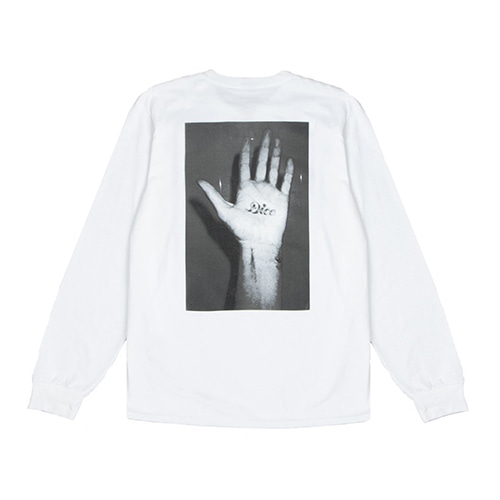 [Fucking Awesome] Dice Hand L/S - White
