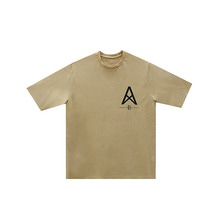 [011] Over Size Desert T-Shirts (beige)
