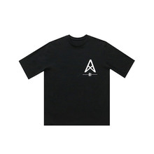 [011] Over Size Desert T-Shirts (black)