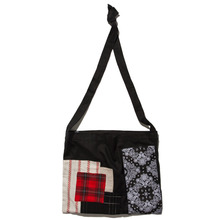 [KRUCHI] Patch 5 Shoulder bag (black)