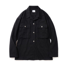 [파르티멘토]Desert Cotton Jacket Black