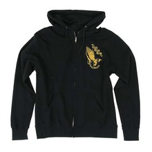 [Santa Cruz] Jessee Guadalupe Hooded Zip L/S - Black