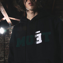 [50% SALE][MUTEMENT]BLACK MUET FLEECE HOODIE