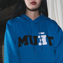 [50% SALE][MUTEMENT]BLUE MUET FLEECE HOODIE