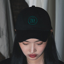 [20% SALE][MUTEMENT]BLACK BASIC LOGO CAP
