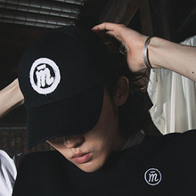 [20% SALE][MUTEMENT]BLACK RAW LOGO CAP