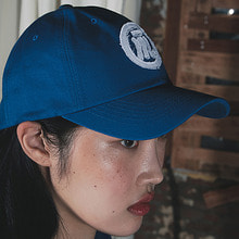 [20% SALE][MUTEMENT]BLUE RAW LOGO CAP
