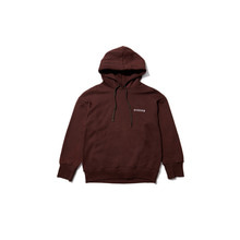 [OVERR][10/20 예약발송] ESSAY.3 BROWN SCOTCH PIPING HOODIE