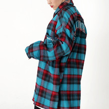 [OHVERDOSE]2-POCKET CHECK SHIRTS MINT