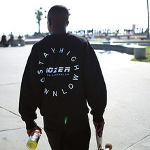 [GOZER] CIRCLE LOGO CREW_BLACK