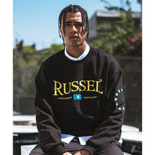 [디파스칼] RUSSEL SWEAT SHIRT BLACK
