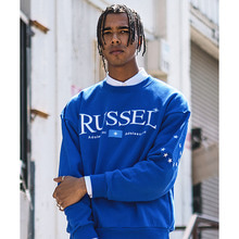 [디파스칼] RUSSEL SWEAT SHIRT BLUE