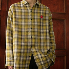 [REC INTERVIEW] CHECK SHIRT YELLOW
