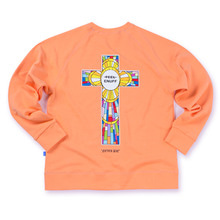 [Feel Enuff] Never Die Crewneck - Peach