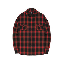 [011] Flannel Shirts (Red)