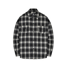 [011] Flannel Shirts (white)