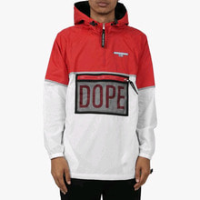 [DOPE] Sierra Windbreaker Black/Red