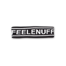 [Feel Enuff] Logo Headband - Black