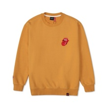 [Bravado]THE ROLLING STONES VINTAGE TONGUE SWEATSHIRT BROWN