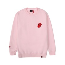 [Bravado]THE ROLLING STONES VINTAGE TONGUE SWEATSHIRT PINK
