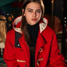 [MELROY] UNISEX Duffel Coat (RED)