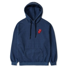 [Bravado]THE ROLLING STONES CLASSIC TONGUE COLOR HOODIE DENIM