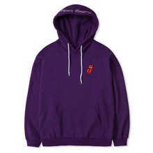[Bravado]THE ROLLING STONES CLASSIC TONGUE COLOR HOODIE PURPLE