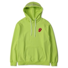 [Bravado]THE ROLLING STONES CLASSIC TONGUE COLOR HOODIE YELLOW (NEON)