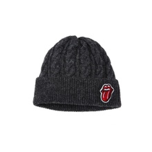 [Bravado]THE ROLLING STONES CLASSIC TONGUE WATCH CAP CHARCOAL