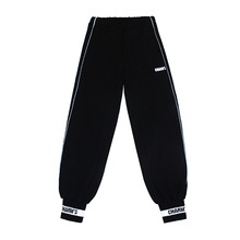 [CHARM'S] Black Sweatpants - BK