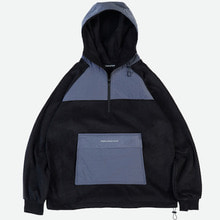 [GRAND BATTEMENT]WARM DOWN Anorak black grey