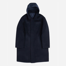 [GRAND BATTEMENT]ARCHITECT reversible coat navy