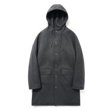 [파르티멘토]Wool Hooded Coat Dipgray