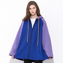 [MOTIVESTREET]A FIT HOOD ZIPUP-PURPLE