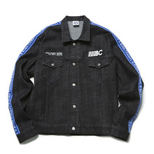 [Bornchamps]BC IB DENIM JACKET 01 BLACK CEQCMJK02BK