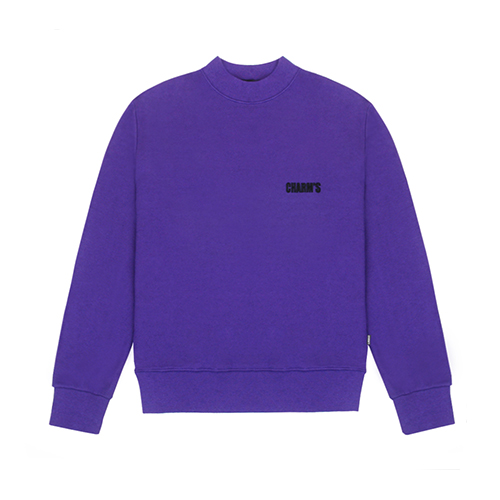 [CHARM'S] Basic small logo sweatshirt - PU