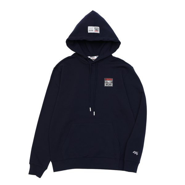 [VISION STREET WEAR] MINILOGO HOODIE_NVY