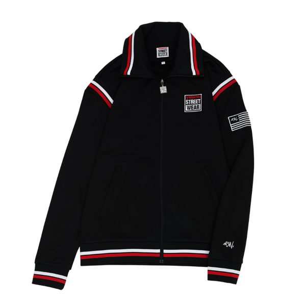 [VISION STREET WEAR] STARTRACK TRACKJACKET_BLK
