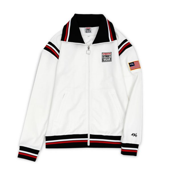 [VISION STREET WEAR] STARTRACK TRACKJACKET_WHT
